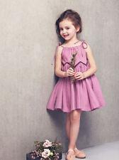 Toddler Infant Kids Baby Girls Summer Dress Princess Party Wedding Dresses