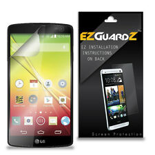 4X EZguardz LCD Screen Protector Skin Cover Shield HD 4X For LG Tribute (Clear)
