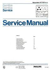 Service Manual-Anleitung für Philips N 7150