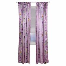 Disney Fairies Tinkerbell Fairy Stripe Window Panel Curtain Drape NEW