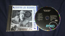 COUNTRY JOE MCDONALD WITH JERRY GARCIA SUPERSTITIOUS BLUES CD ALBUM