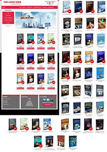 Easy Ebook Download Shop Generator mit 40 Ebooks - Reseller Lizenz