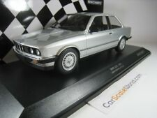 BMW 323i 1982 E30 COUPE 1/18 MINICHAMPS (SILVER)