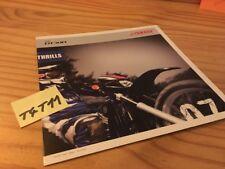 Yamaha 2007 Dt50R DT50 R DT 50 moto prospectus brochure prospekt publicité pub
