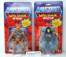 MOTU, Commemorative Battle Armor He-Man & Skeletor, MISB, MOC, box, sealed, MOSC