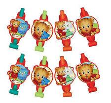DANIEL TIGER'S NEIGHBORHOOD favor BLOWOUTS birthday party supply 8pcs