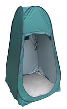 POP Up Portable Green Utility Tent Camping Shower Toilet Changing Single Room