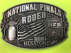 Внешний вид - NEW 2021 Hesston National Finals Rodeo Belt Bluckle (Adult size)