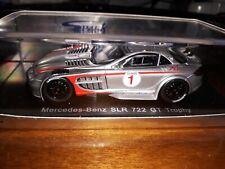 Spark 1/43 Mercedes SLR 722 #1 GT Trophy J. Alesi S1027