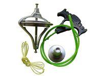 1Pcs Gyroscope de précision en métal Jouet éducatif pour enfants