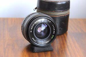 X-Kominar.W  (for Fujica-X Bayonet) DM 28m f/2.8 Wide Angle Lens ,Fujifilm,Japan