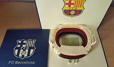 3D Hecho a Mano Pop Up Barcelona Estadio. tarjeta de felicitación para todas las ocasiones