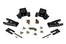 """Belltech 75-91 Chevy C30 Crew Cab & Dually 4"""" Rear Drop Shackles & Hangers"""