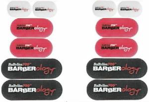 BaByliss Pro BARBERology #BBCKT5 Barber Hair Grippers 6 Grips Each 2 PACK NEW