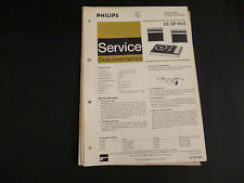 Original Service Manual Philips  22 GF 604