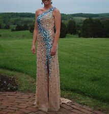 Tiffany Designs Prom/Pageant Dress - Size 0-2. Earrings Included