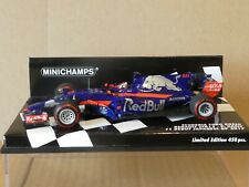 Minichamps 1:43 Pierre Gasly Toro Rosso STR12 F1 Debut Japanese GP 2017