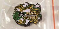 "Walmart Associate Pin! Brand NEW 2020 GLITTER Collectible Pin! ""Rockin' Cashier!"