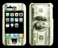 Cover iPhone 3G custodia rigida design 100 Dollari fronte/retro