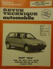 NEUF Revue technique FIAT UNO POP 45 45 S 60 S 60 SX moteur 903 / FIRE RTA 5201