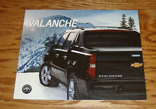 Original 2013 Chevrolet Avalanche Sales Brochure 13 Chevy