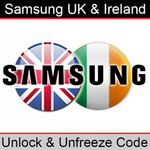 Samsung UK & Ireland Unlock/PUK & Region (RGCK) Unlock Code - Premium Database