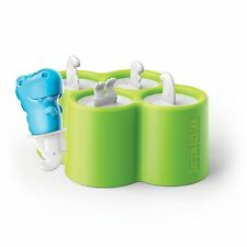 Zoku Mini Dino Ice Lolly Pop 4 Mould Frozen Popsicle