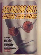 LIBRO- ASSASSINI NATI NATURAL BORN KILLERS - QUENTIN TARANTINO - CDE 1994