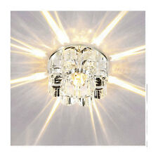 New 10cm 3W Crystal LED Ceiling lights Aisle/Porch lights chandeliers 1127HC