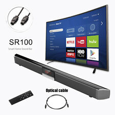 87cm Home Surround TV PC Soundbar System Wireless Soundbar Koaxial Optical 40W