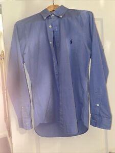 ralph lauren shirt slim fit Small