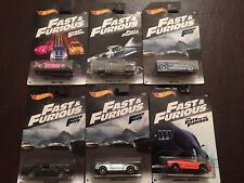 Hot Wheels Fast And Furious 2018 Set