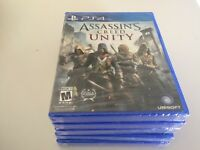 Assassin's Creed: Unity (Sony PlayStation 4, 2014) PS4 NEW