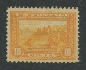 1913 US Stamp #400 10c Mint Hinged Very Fine No Gum Panama-Pacific Expo Issue