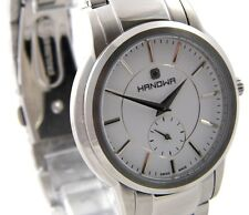 HANOWA GALAXY Classic Herren Uhr 16-5038.04.001 Edelstahl silber schwarz >>>NEU