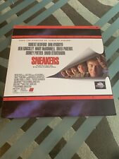 Sneakers - Letterboxed Laserdisc - Double Disc - River Phoenix - Robert Redford