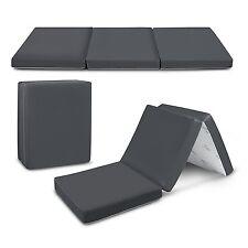 "Floor Mattress Trifold Foam Folding Mattresses Mat 4"" Inches TriFold/Tri Folding"