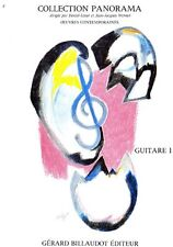 Partition pour guitare - Divers compositeurs - Panorama de la Guitare - Volume 1