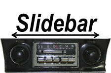NEW Slidebar Radio Stereo for 1968-1976 Chevy Corvette K By Custom Autosound