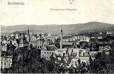 Reichenberg Villenviertel mit Volksgarten 1921