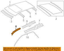 MERCEDES OEM 08-11 ML350-Exterior Roof Side Rail Left 1646302125