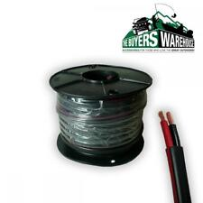 4MM TWIN WIRE CABLE x 30 METRE 30M BATTERY CARAVAN TRAILER 4X4 15 AMP TYCAB