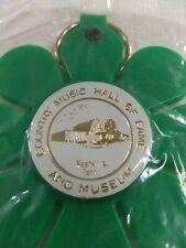 Vintage Country Western Music Flower Keyring Keychain Nashville New old Stock