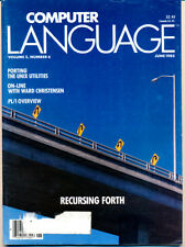 Computer Language - June 1985 - Porting Unix Utilities / Forth
