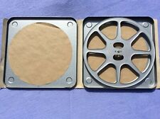 + Boxed 9.5mm Metal Reel & Can - 1000ft Capacity Min - Made in France +