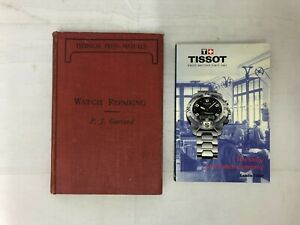2x Watch Repair Books (Vintage) Garrard 1934 & The Tissot Story of a Company