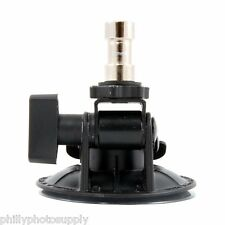 Delkin Fat Gecko Stealth Vacuum Light Mount >Holds 4 LB -> Free US Shipping