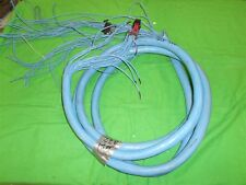 GEPCO SNAKE SHIELDED CABLE 32 PAIR  BALANCED 3 WIRE PER PAIR 32 SEPERATE CABLES