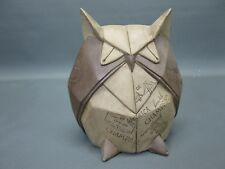Figurine décorative en ANTIQUE origami style design accessoire chouette 20 cm