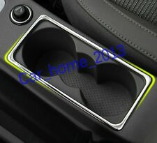 stainless steel Car Water Cup holder cover trim For Skoda Octavia MK3 A7 2015 17